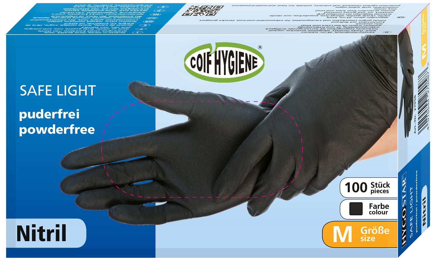 Confezione da 100 guanti usa e getta. 100